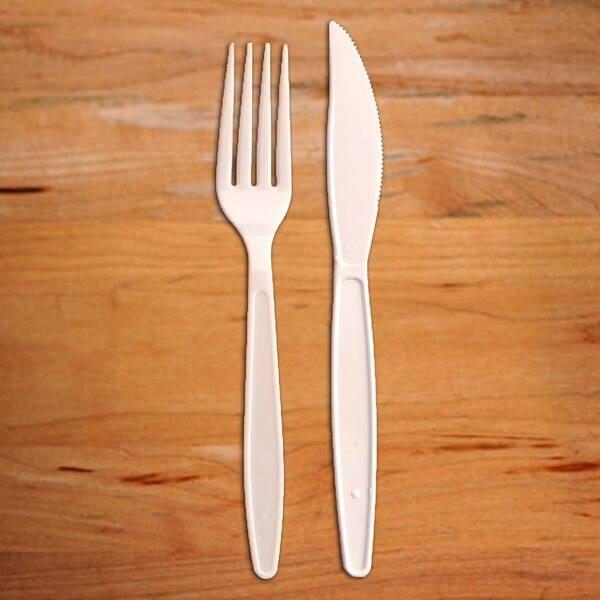 Kit talher,garfo e faca e guardanapo