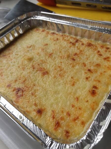 Escondidinho de batata ,recheado com carne moída e requeijão cremoso 150 g (kids)