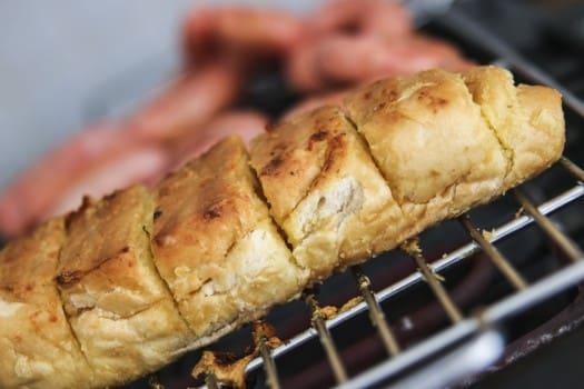 Pão de alho recheado com queijo cream chesse 200 g