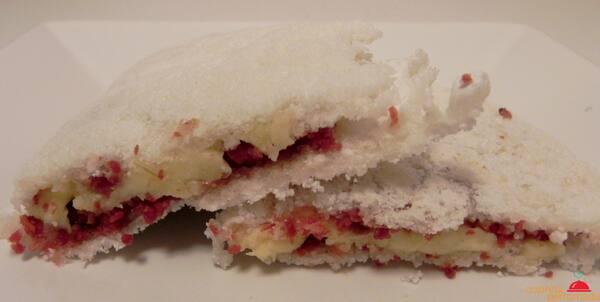 Tapioca de bacon com queijo mussarela