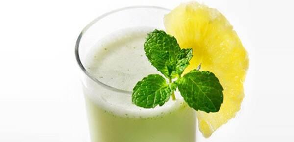 Suco Detox de Limão com Hortelã 500 ml