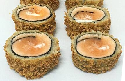 Salmão hot (sem arroz)