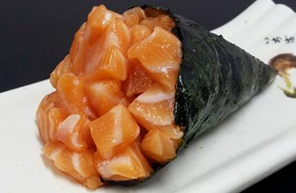 Temaki sem arroz