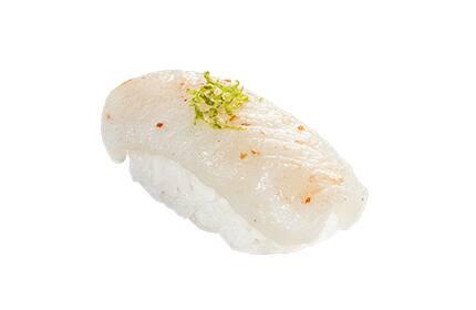 Sushi peixe branco