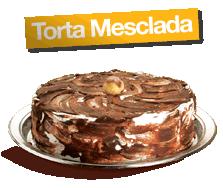 Torta Mescla - serve até 30 fatias