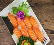 Combo niguiri de salmão 8 peças