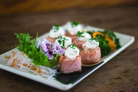 Dyo de salmão maçaricado 4 unidades