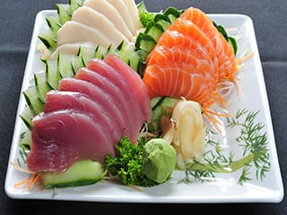 Diy escolha seus sashimis! 20pçs