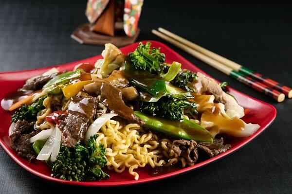 Yakissoba com legumes