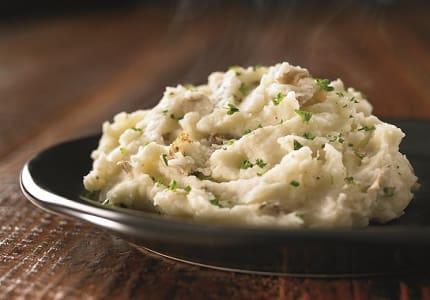 Garlic mashed potato