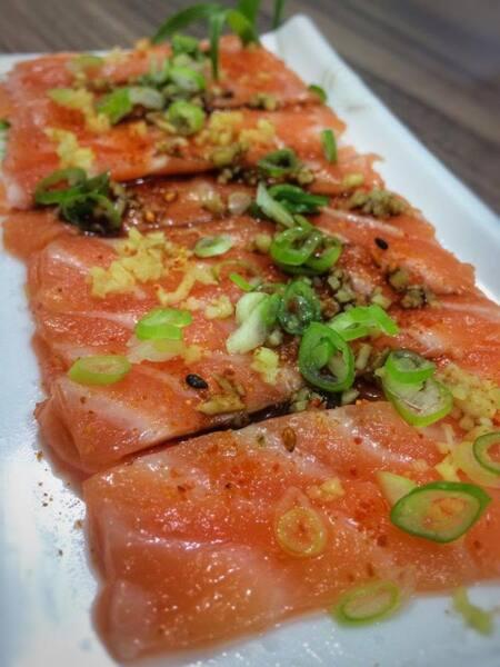 11 - carpaccio de salmão