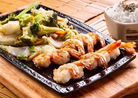79 - teppanyaki de camarão (nova receita)