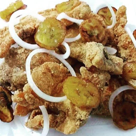 Filé de dourado frito