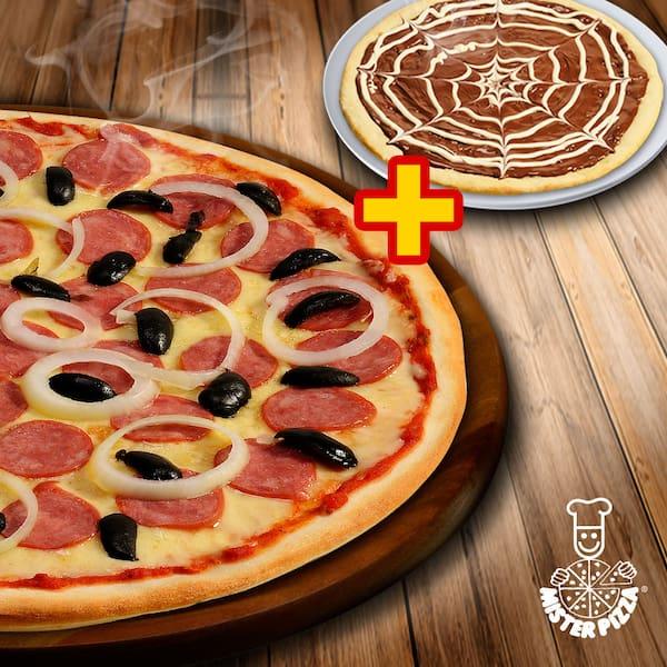 Mister pizza - combo giga+ brotinho