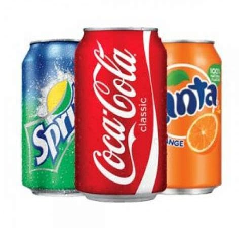 Refrigerante lata coca cola ou guarana 310 ml