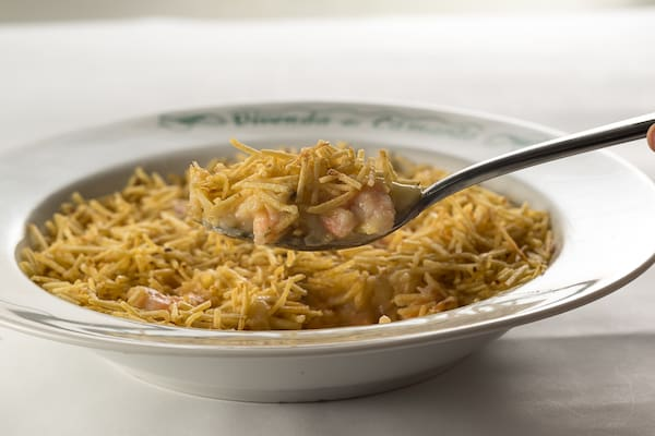 Escondidinho de camarão