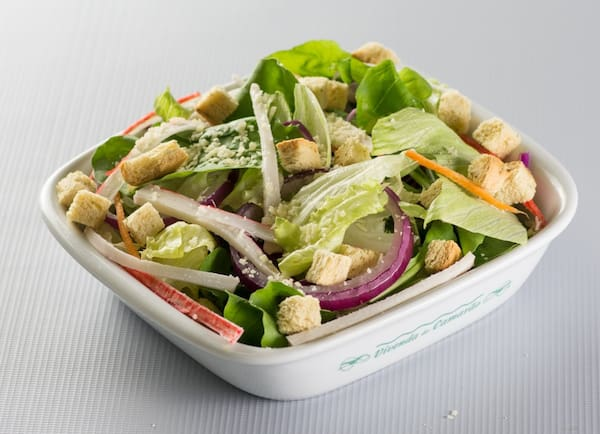 Side casual salad