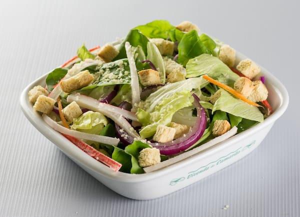 Side casual salad