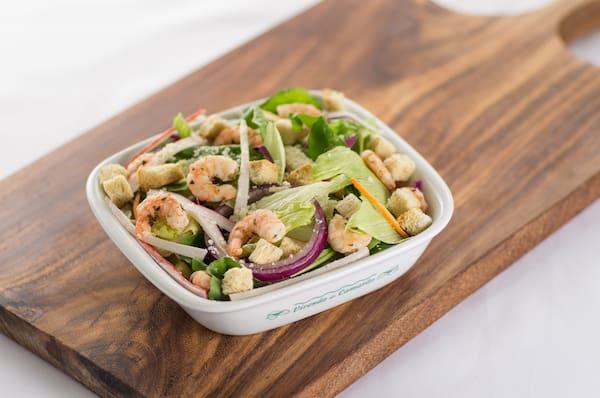 Side shrimp salad