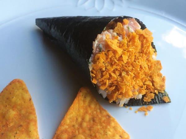 Temaki nachos picante