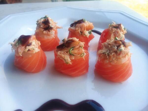 Joy salmão (6 unidades)