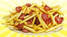 Batata frita c/ calabresa