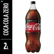 COCA COLA ZERO 2 LTS