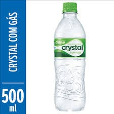 AGUA COM GAS 500 ML