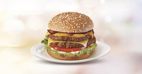 Hambúrguer mega bacon
