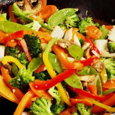 Combo chop suey vegano