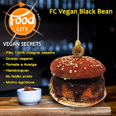 Fc vegan black bean combo