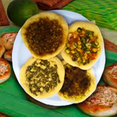 Esphia acarajé c/legumes