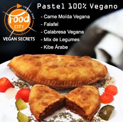 Pastel 100% vegano – carne moída vegana