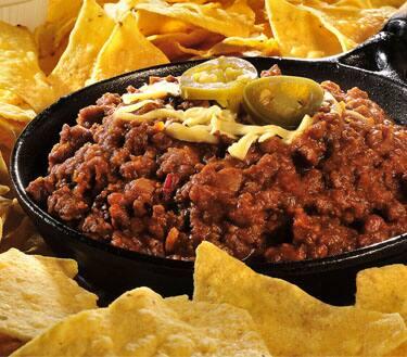 Chili com nachos
