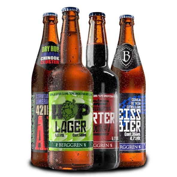 Cervejas artesanais 500 ml