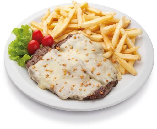 Kero mignon com queijo e alho - porção