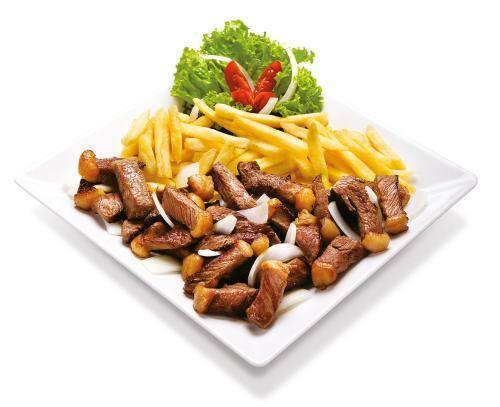 Kero picanha com fritas - porção