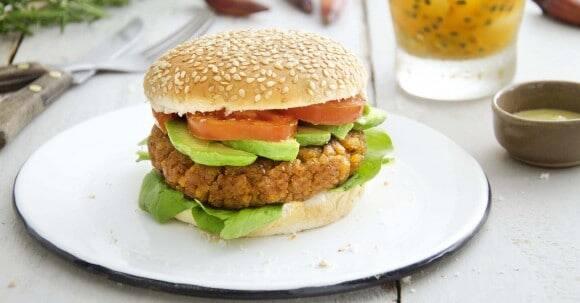 Hambúrguer de shitake