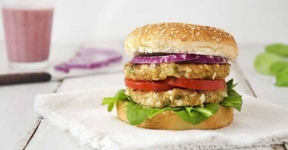 Hambúrguer de palmito