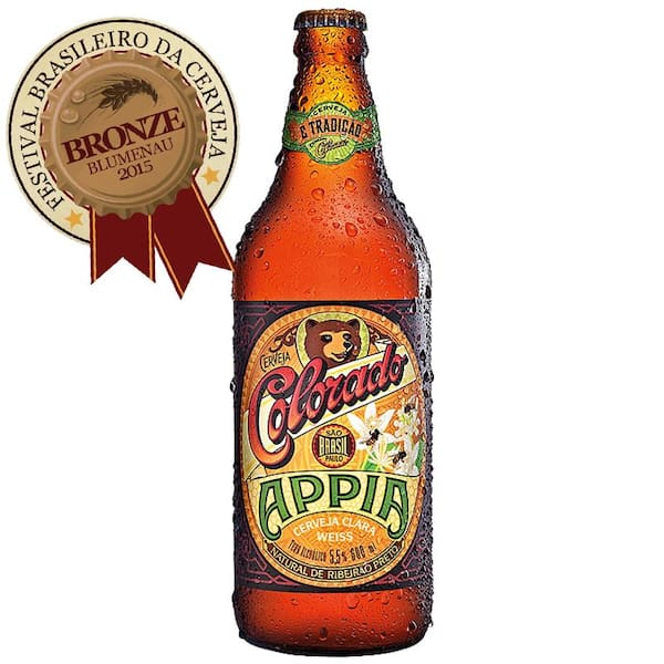 Colorado APIA Trigo + Mel (600 ml)