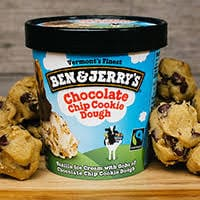 BEN JERRY´S Chip Cookie Dough 120 ML e 458 ML