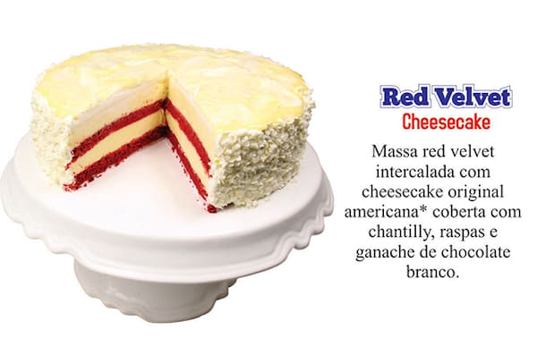 ** novo** as cheesecake originais americanas