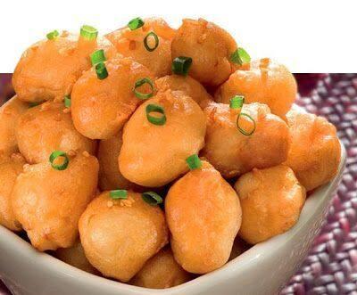 Frango empanado chinês