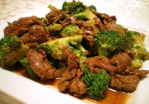 Carne com (brócolis) + legumes