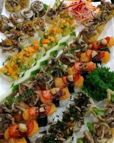 Combo Vegetariano (36 peças)