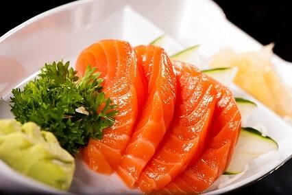 Sashimi salmão (6 unidades)