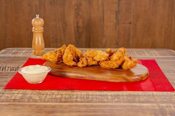 Porção chicken g - 12 pedaços - happy hour