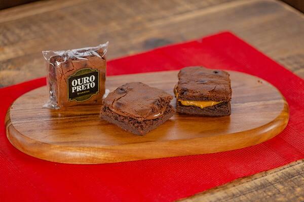 Brownie's - Nutella ou doce de leite