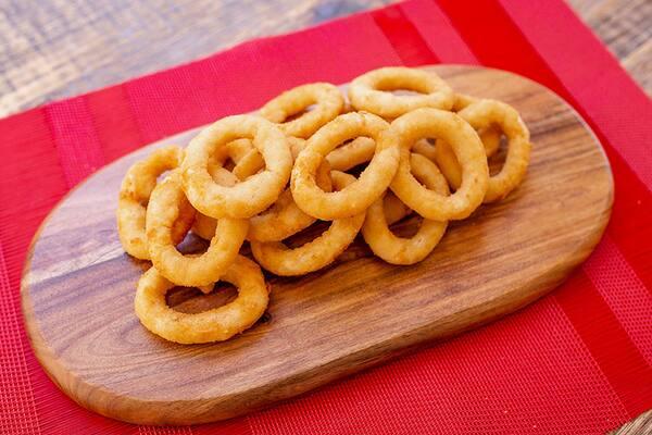 Onion rings para dois - sem molho