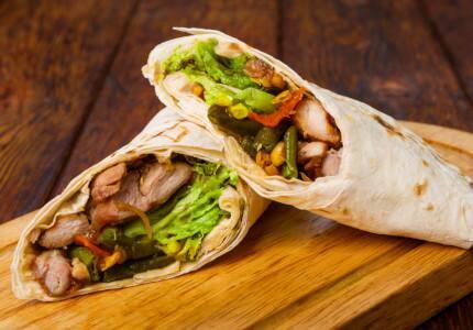 Burrito tradicional - frango